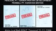 Presiden RI Harus Desak Menteri ATR/BPN RI, Basmi Mafia Tanah di Kota Tanjungpinang