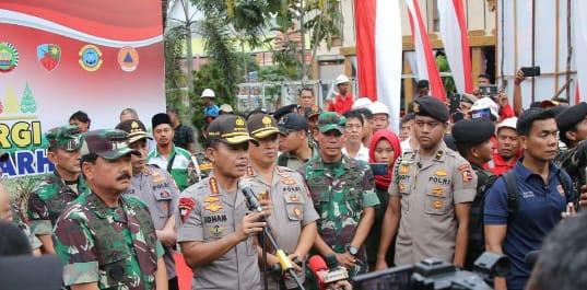 Kapolri dan Panglima TNI Apresiasi Polda dan Pemda Riau