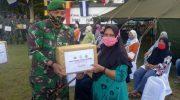 Peduli Covid-19, Alumni Akabri 96 Bharata Sena Salurkan Ratusan Paket Sembako Kepada Masyarakat Kabupaten Bintan