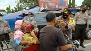 Kapolres Rohil Kunjungi Pos Check Point dan Ops Ketupat Lancang Kuning 2020