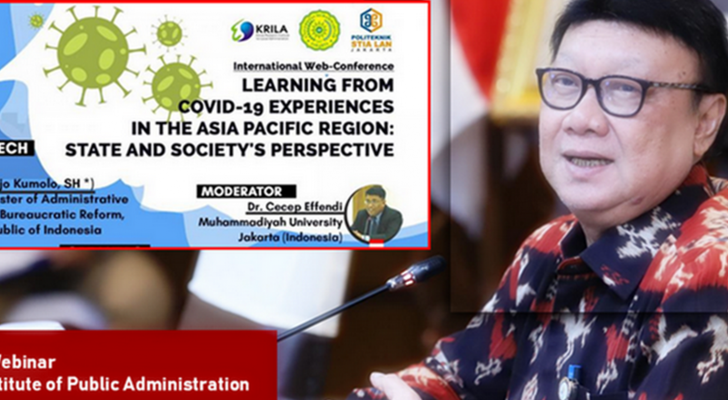 LEARNING FROM COVID-19 EXPERIENCES IN THE ASIA PACIFIC REGION:STATE AND SOCIETY PERSPECTIVE