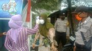 Polsek Kubu Tinjau Kelompok Tani Bhayangkara Ketahanan Pangan Kubu