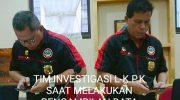 Sekjen L-KPK Duga, KKN Dalam Penerbitan 5 SHGB PT. TPD dengan Gubernur dan BPN