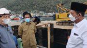 Gubernur Ansar Tinjau Proyek Jalan SP II Senilai Rp 72, 6 M di Siantan