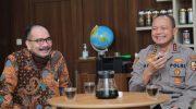 Pertemuan Firman Jaya Daeli dengan Kabaharkam Polri di Batam